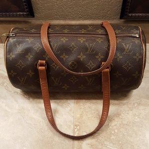 VINTAGE Louis Vuitton Papillon 26 Handbag